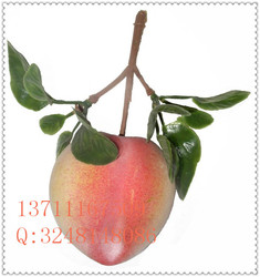 2015 new style artificial fruit / colorful fruit for indoor decorative