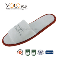 Good quality disposable hotel guests slippers for Motel/Travel/Spa/Airplane