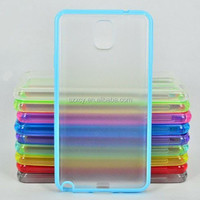 2015 unique pc tpu wholesale clear mobile phone case for samsung galaxy note 3