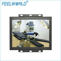 Feelworld Metal Frame S-Video 4:3 15 Inch open frame lcd monitor with touch