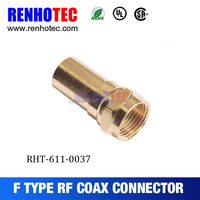 2016 Hot Waterproof RG59 RG6 RG11 twist-on F male connector