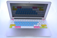 colorful keyboard pretector For ipad silicone keyboard cover
