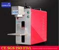 Portable industrial 20w fiber laser marking machine for nameplate