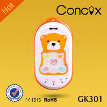 Concox High Accuracy GPS+GPRS+GSM Baby Phone GK301 with Real-time GPS Locating Function Low cost gprs mobile phone