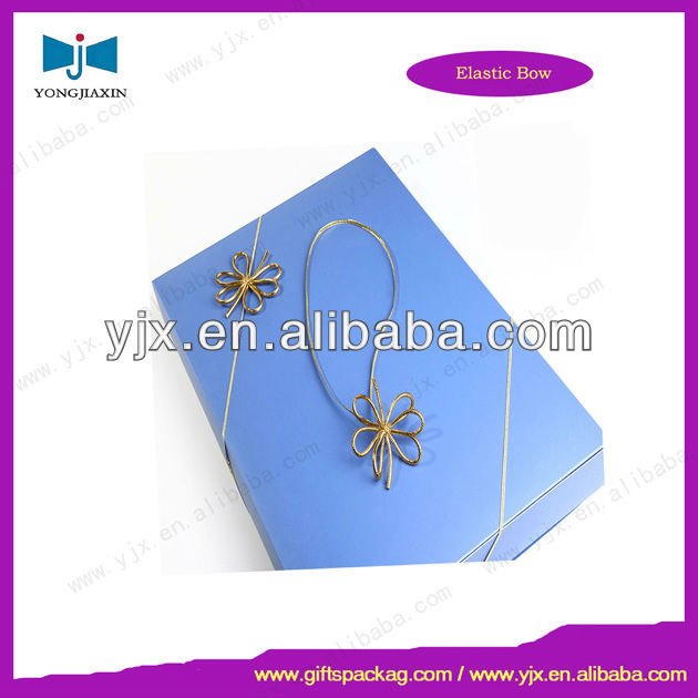 Decorative Pre-tied Bow Stretch Loop for Gift Package