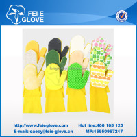 NI.6 cotton gloves special clothes cleaning sponge and scouring pad