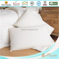 Luxury Comfort Polyester Fiber Filled Pillow Soft Like Down Microfiber Pillow of King 20x36inch