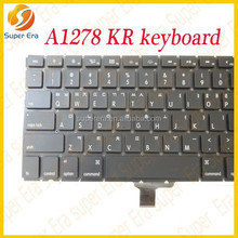 Tested original for MacBook Pro 13'' a1278 Korean Korea KR keyboard 2008 2009 2010 2011 2012 2013 spare part------SUPER ERA