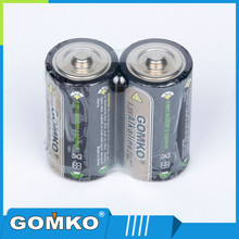 Zn/Mno2 battery type C size 1.5V Alkaline Batteies