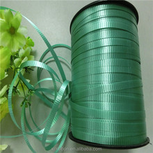 manufacture 5mm crimped plastic curly pp ribbon for balloon