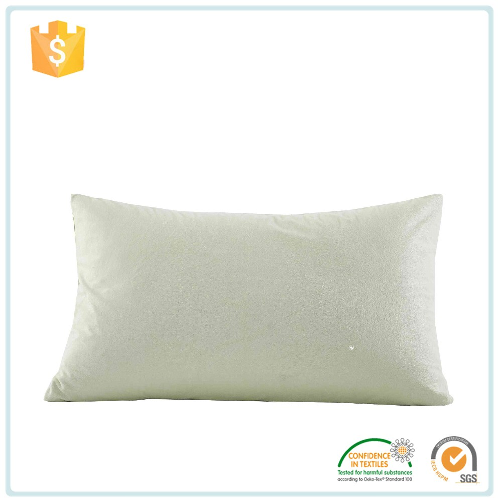 China Wholesale Market Agents Natural Pillow Cover , Cotton/Polyester Waterproof Pillow Cover