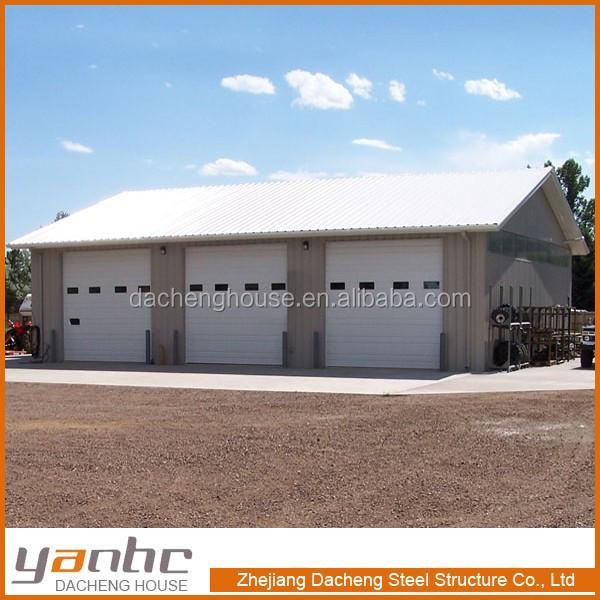 Vente chaude 3 de voiture pr fabriqu e structure en acier for Bon id garage