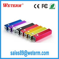 2200mAh Metal Aluminum Power Bank, LCD Emergency Bulk Power Bank Supply 2200mAh