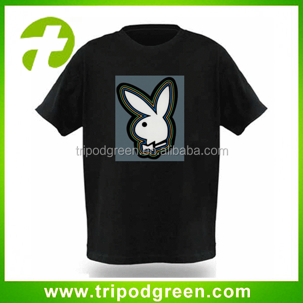 fashion design playboy led t-shirt wholesale online