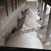Pure densified and undensified silica powder used as construction material