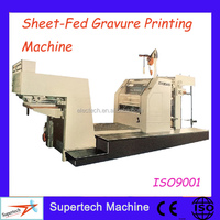 High Speed Sheet-fed Small Gravure Printing Machine