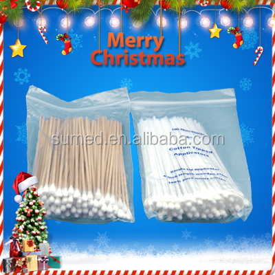 Top selling good service medical colored cotton swab,cotton bud
