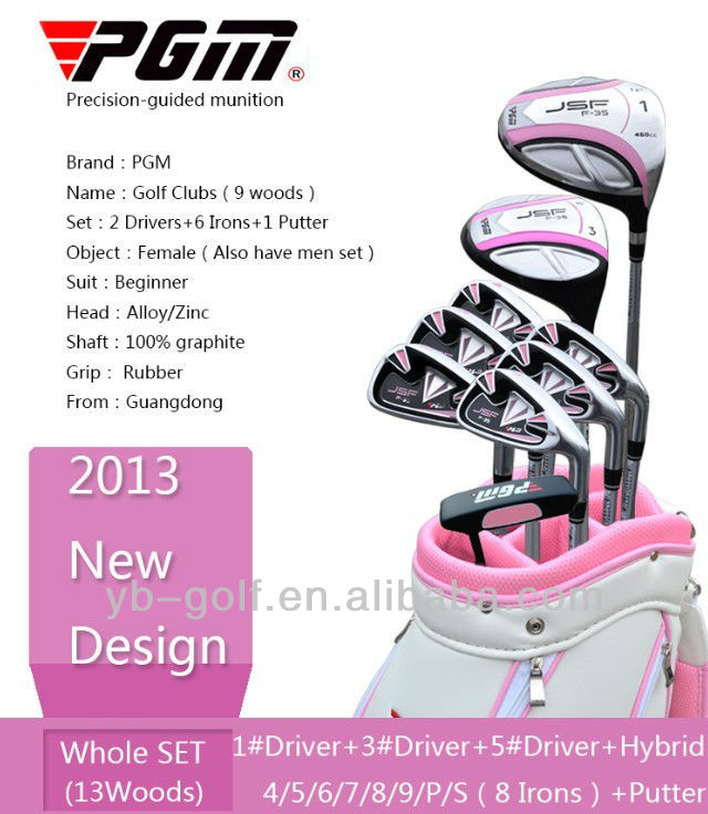 PGM JSF Lady's Golf Clubs LTG001