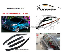 window deflectors side window deflectors suitable for 2014 FIESTA use