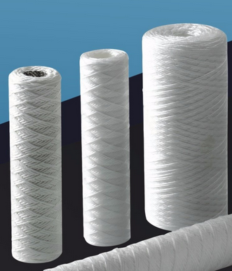 10 inch Yarn String Wound Water Filter Cartridge For house use