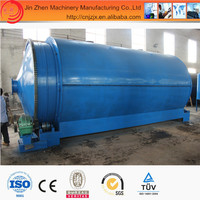 Large capacity fully automatic Continuous Waste Tire/rubber/plastic Pyrolysis Plant with CE,SGS,ISO