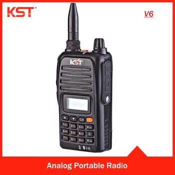 Portable Walkie Talkie Radio with 199 channels V6