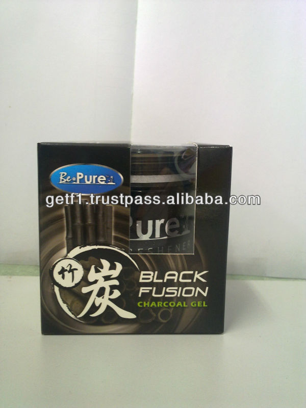 Black Fusion Charcoal Gel - 60gm
