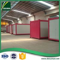 DESUMAN new issue high quality fire proof prefab modular container hotel