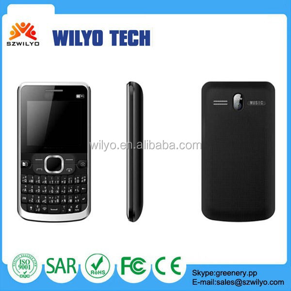 "WH39 1.8"" Chinese Dual Sim Cell Phone Large Qwerty Keyboard Cell Phones For Sale"