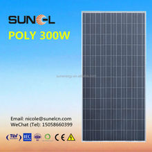 300w poly photovoltaic solar panels