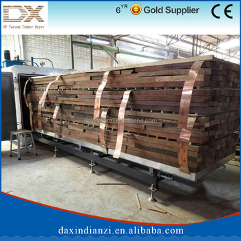 HF vacuum drying machine for all kinds of wood