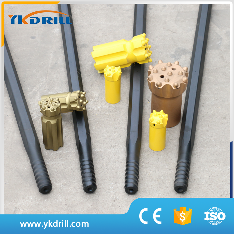 Plastic t38 thread extension rod made in China