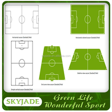 New Design Football Soccer Pitch 3g Artificial Grass Sport Turf On Sale