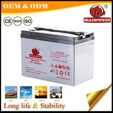 220 ah solar energy storage battery gel type 6v solar rechargeable battery