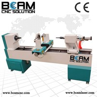 BCM-15030 Easy operation and low price CNC wood lathe machine with CE certification