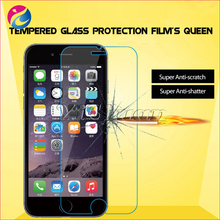 100% Perfect Fit Cover for iPhone 6 Plus 0.3mm Anti Crack Tempered Glass Screen Protector