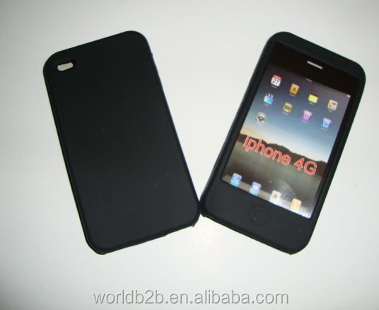 clothes Silicone Case Skin Cover For Apple iPhone 4G