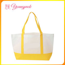 Promotional customized logo non-woven fashion tote bags