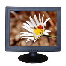 "Black white color 4:3 15"" vertical small lcd computer monitor"