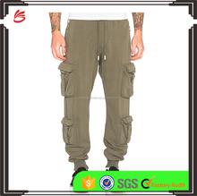 Wholessale custom mens cargo pants loose fit work mens cargo pants with side pockets trousers