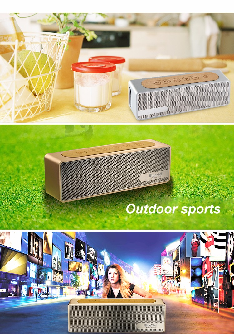 Small Portable Wireless Stereo Subwoofer Speaker