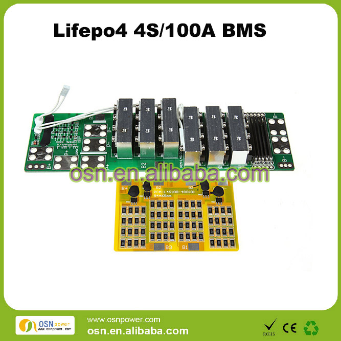 4s 12v 100a LiFePO4 Battery bms/pcm