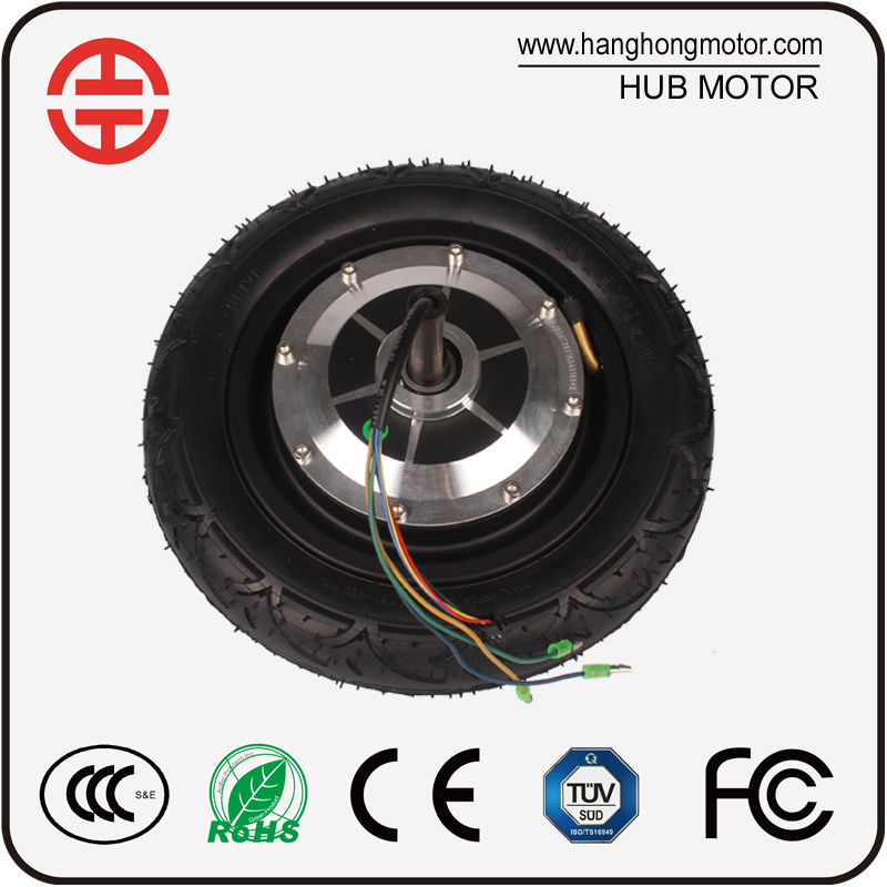 "10"" Brushless 36V 300W Electric Wheel Hub Motor for Hoverboard"