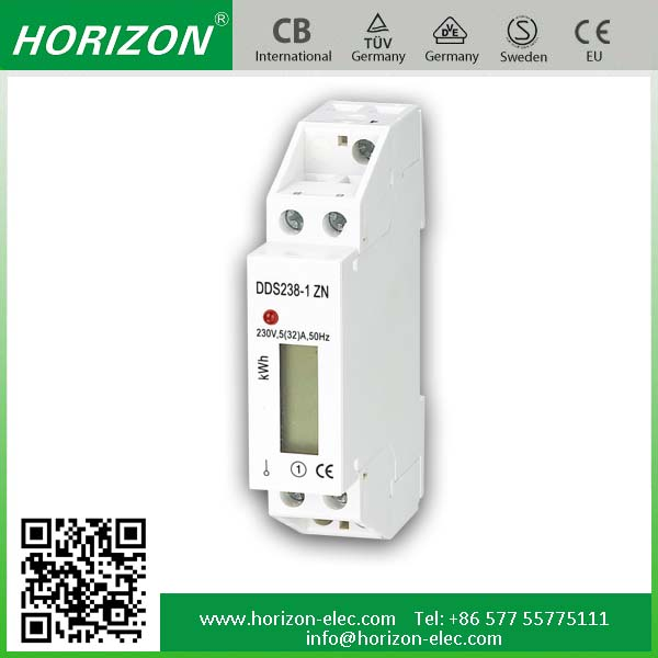 DDS238-1 ZN RS485 mudbus remote control single phase energy,current,voltage meter digital electric meter reverse