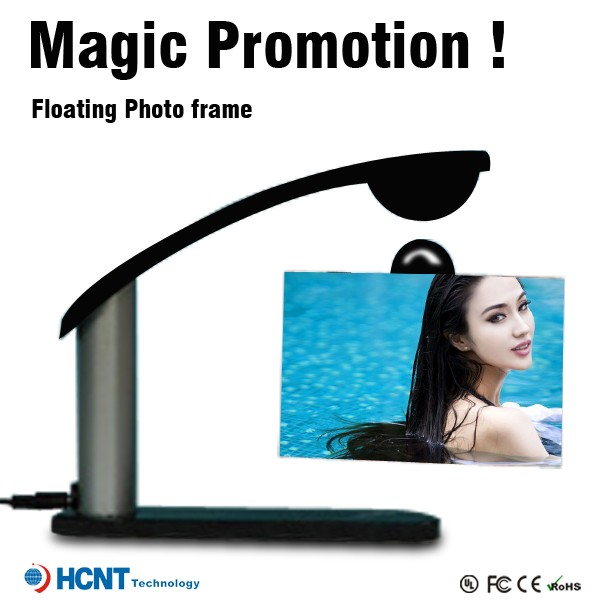 Acrylic material promotional wholesale levitating photo frames