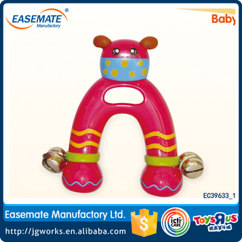 Wholesale plastic baby rattles toys music instruments