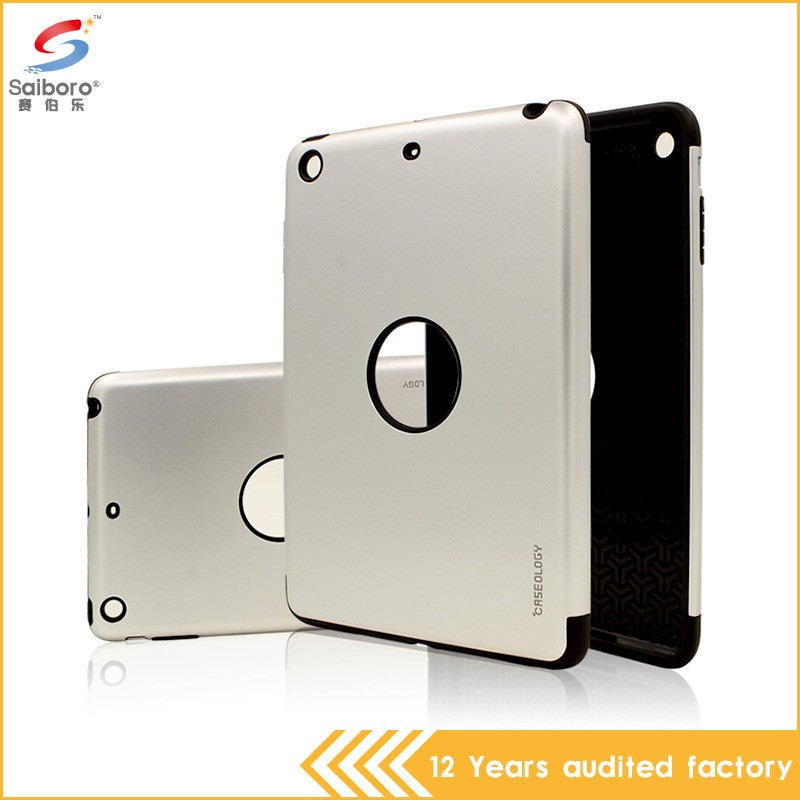 OEM welcome bulk cheap double color in one for ipad air case