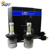 S2 high power 72W automotive led lamp DC 12V car led headlight bulb, led H4 car led headlight