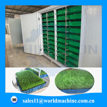 Container type fodder processing machine