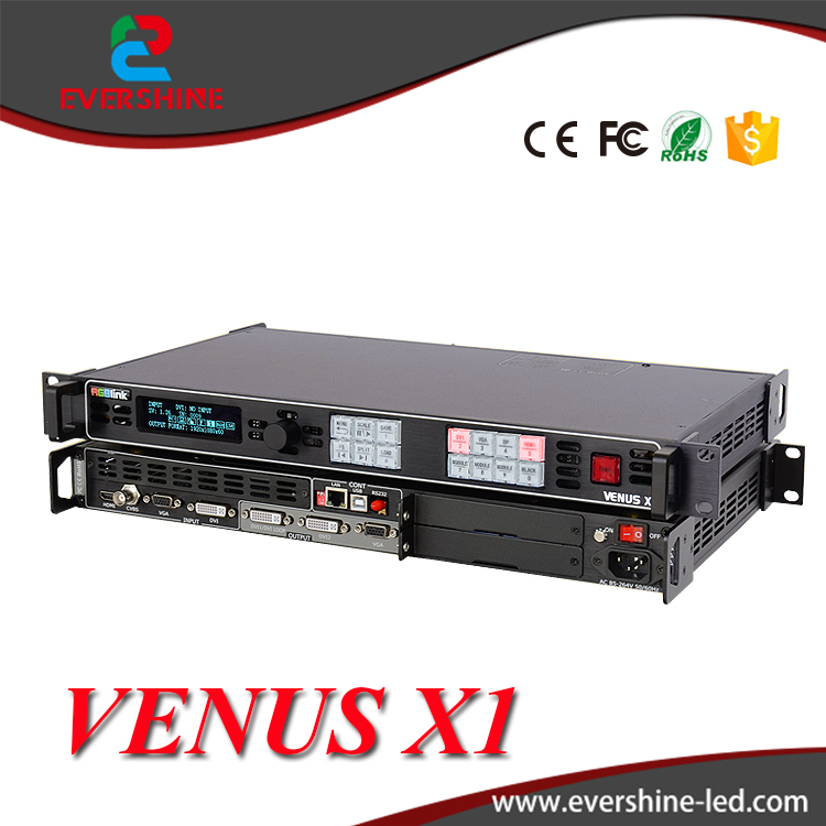 RGBlink LED <strong>Video</strong> processor VENUS X1 Seamless switching between inputs Support WIFI control function